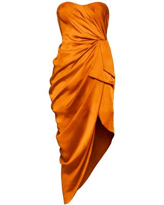 <3 this burnt orange dress by H!