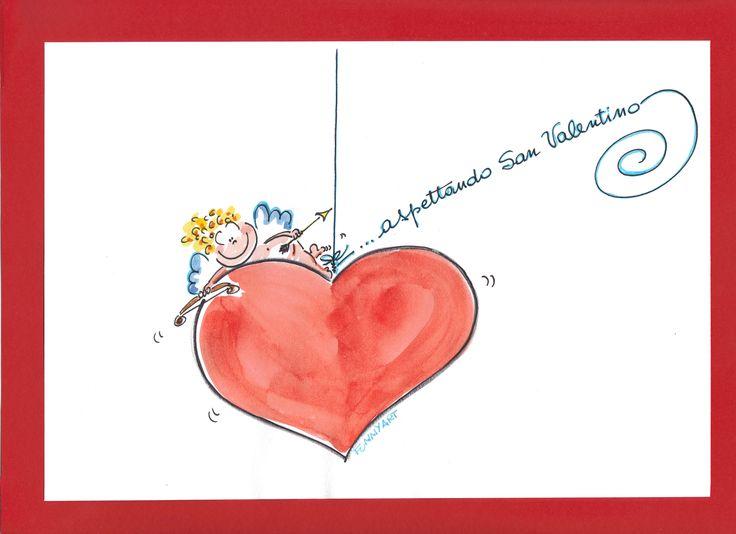 San Valentino's Angel FUNNYART
