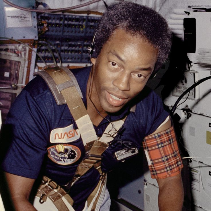 Guion Bluford Jr. 1st African American Astronaut (1983)- I didn't even know this! African American Firsts Timeline