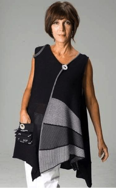 """I love Lagenlook! The literal meaning of the word """"Lagenlook"""" is layered look…"""