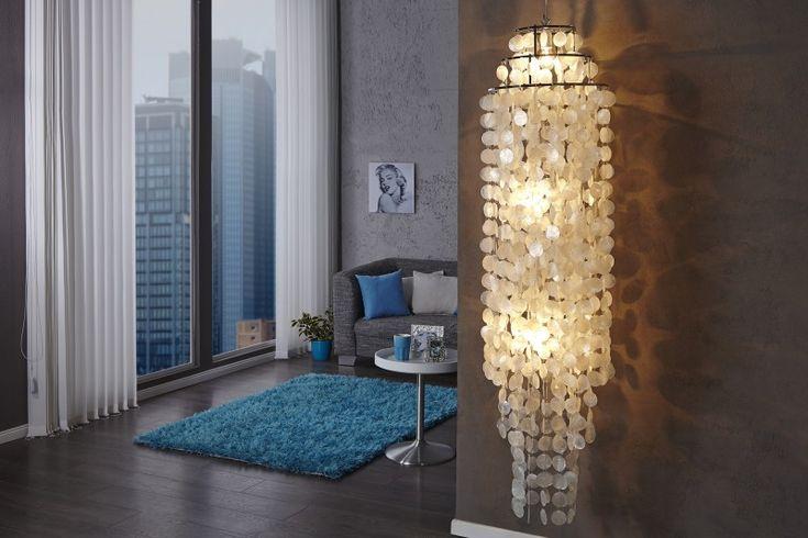 Závesná lampa LONGSHELL RINGS