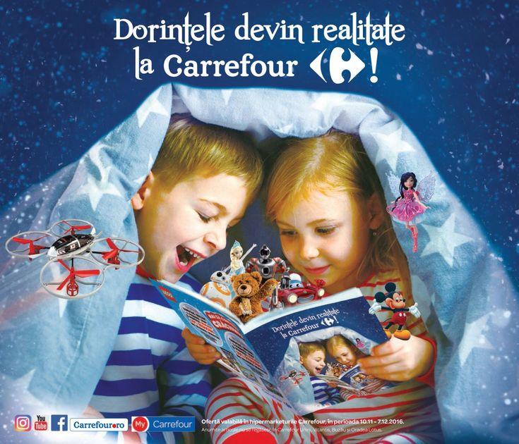 Catalog Carrefour Jucarii Noiembrie - Decembrie 2016! Oferte si recomandari: Gama de jucarii, Garda Felina, pret incepand cu 19,90 lei; Gama Pompierul Sam