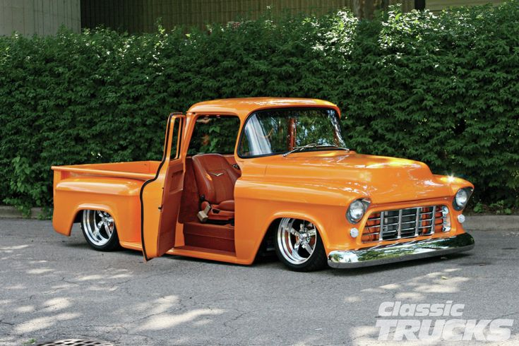 1955 chevy truck | 1955 Chevy Truck Front Three Quarter