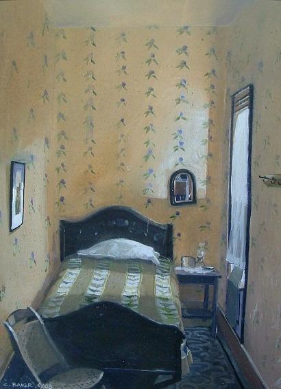 ◇ Artful Interiors ◇ paintings of beautiful rooms - Chris Baker,  Flying Geese
