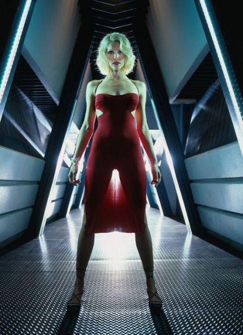 #Battlestar Galactica #Tricia Helfer #Caprica Six.