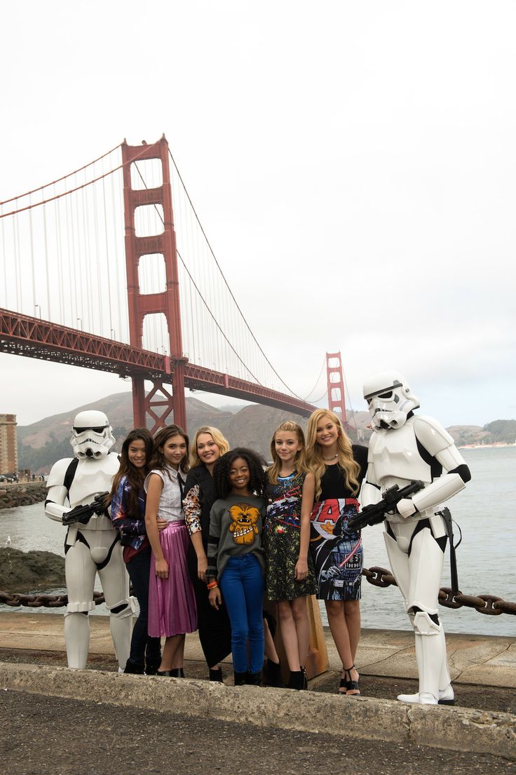 To celebrate the October 3 premiere of Star Wars Rebels on Disney Channel, the DC stars took a trip to Lucasfilm's home in San Francisco for a photo shoot you might say is a FORCE to be reckoned with.
