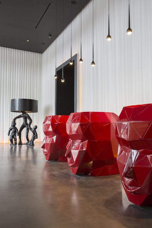 Art'otel Amsterdam, Netherlands designed by Digital Space