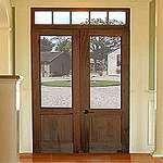 toplight door frame and doors