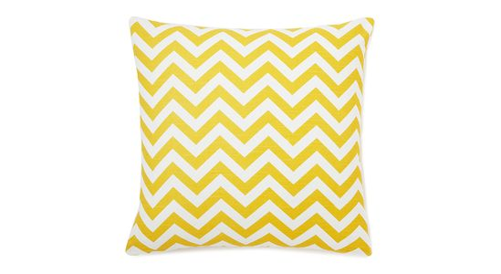 Bold geometric pillows for your bed, sofa or chairs! Art and artful home decor is the easiest way to add movement to any space. It doesn't cost a fortune to breathe life into a space. Mix patterns or play it safe with a monochromatic look. Canary, 22x22