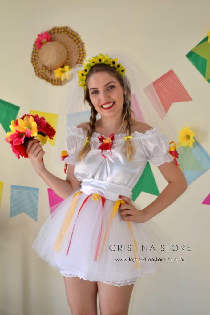 Vestido Noiva Caipira Chic                                                                                                                                                      Mais