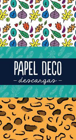 Les presento los nuevos diseños de Papel Deco para sus tarjetas y scrapbook. ¡gratuitos para descargar! http://craftingeek.me/papel-deco/