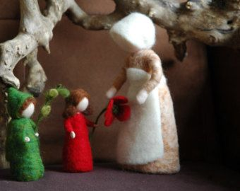 Special item : 3 girls and 3 boys flower children by MagicWool