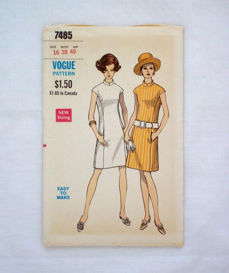 13 best Vogue Americana Vintage Sewing Patterns images on Pinterest ...