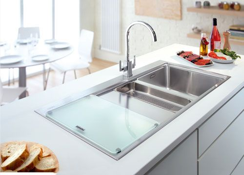 Franke Sink With Drainboard : ... sink / stainless steel / with drainboard MYTHOS : MMX 651 FRANKE