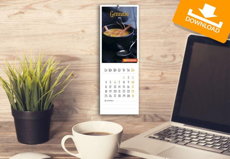 #Kit #scaricabili #gratis: #Calendario2016! | Festeggiamo Insieme il #Capodanno con i materiali per la tua #festa: scarica il calendario di #Conad Bene Insieme e inizia il #2016 con noi :)
