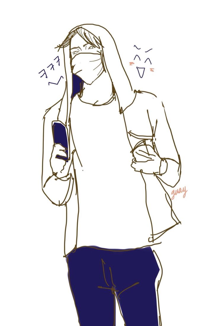 round sketch | #sehun like this moment 'cause he seem like happy and carry the sound