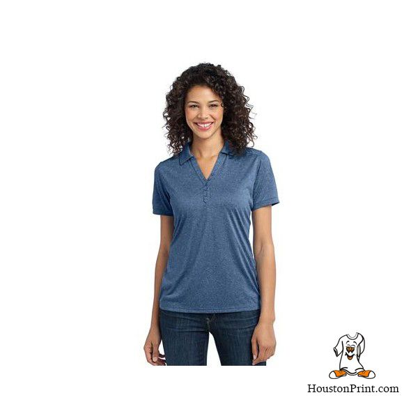 Port Authority Ladies Performance Cross Dye Polo. L513 Learn more at: http://embroidery-houston.adaprint.com/index.php?id_product=1193&controller=product