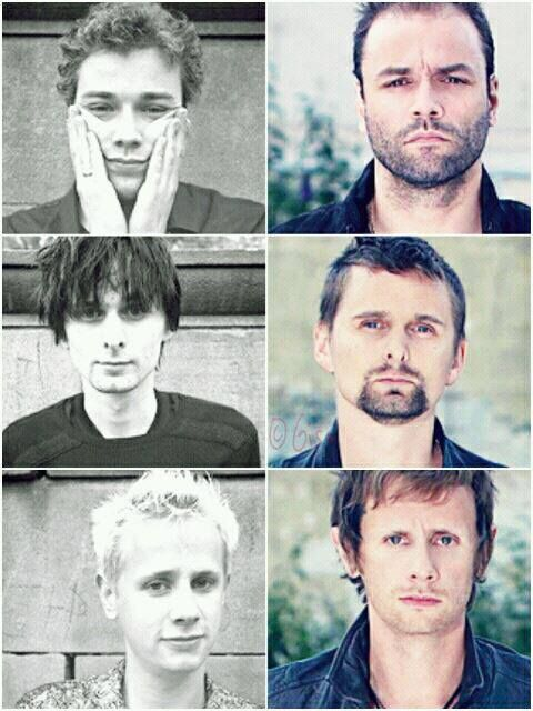 Muse... FANGIRLING!!! They've grown into sexy people.