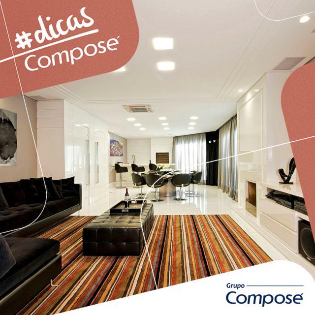Querendo modificar os ambientes da sua casa? Confira a matéria de hoje em nosso portal: http://bit.ly/tapetesnadecoracao #grupocompose #compose #tapetesnadecoracao #tapete #decor #decoracao #dicascompose