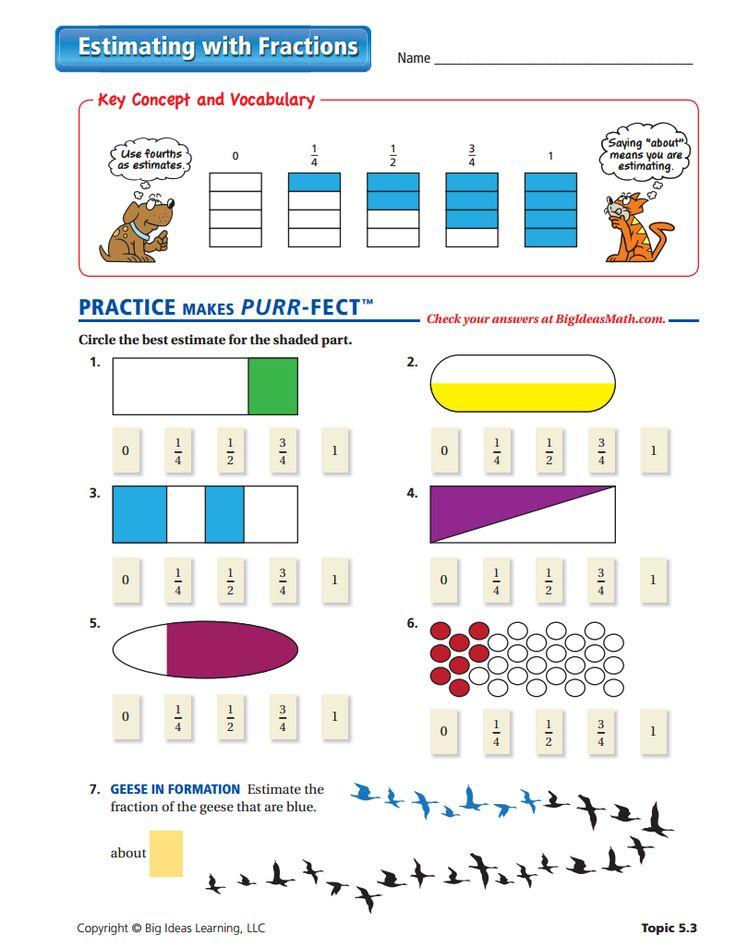 9 best fractions middle school images on pinterest fractions worksheets middle school and. Black Bedroom Furniture Sets. Home Design Ideas