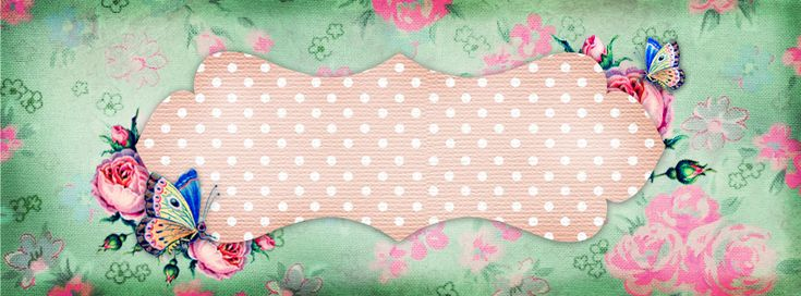 free vintage facebook time line cover shabby butterfly banner 2
