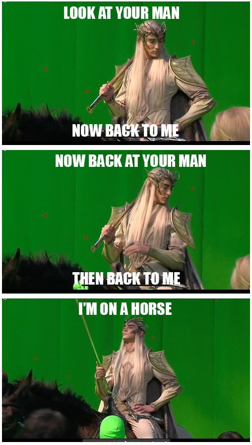 Thranduil - the end of this commercial should also have been done
