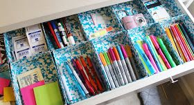 Lovely On a Budget: DIY DUCT TAPE ORGANIZERS