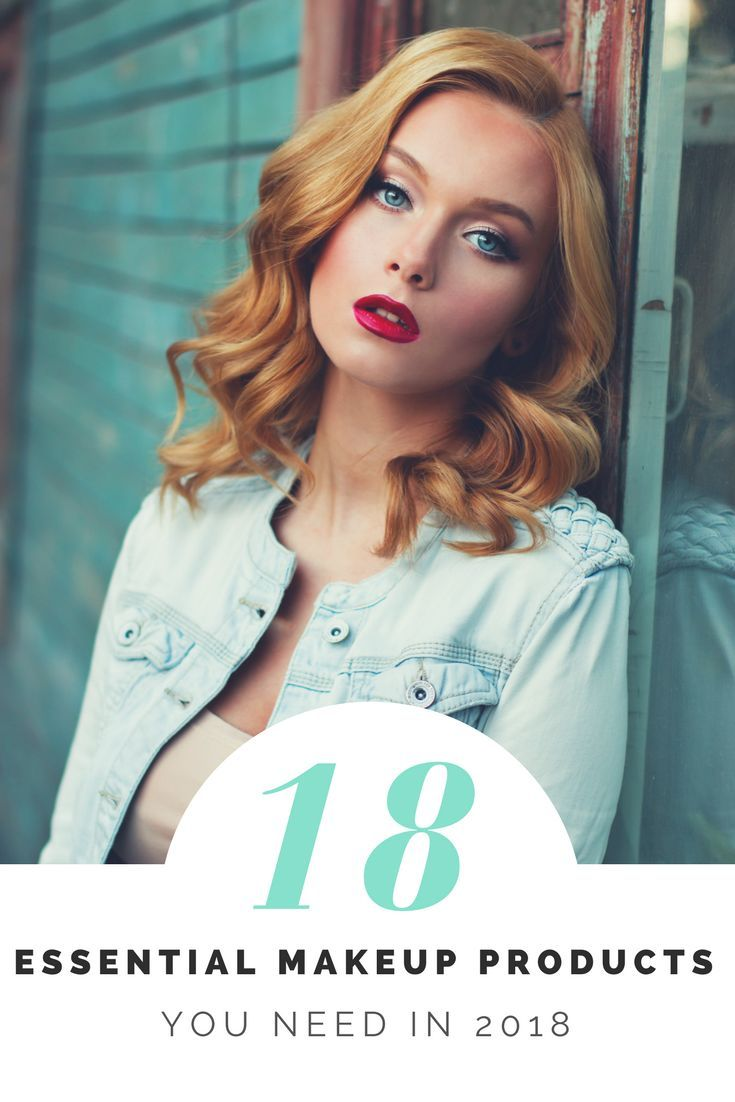 Your 18 essential makeup products are awaiting you. Flip through this article and find out everything you need to be an absolute makeup queen in 2018.