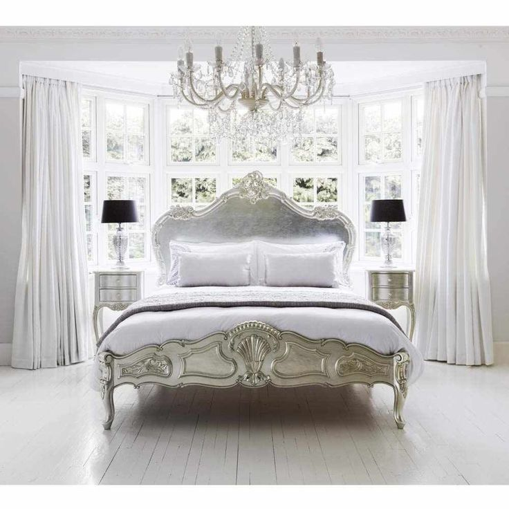 Sylvia Serenity Silver French Bed  King. Best 25  French bedroom furniture ideas on Pinterest   French