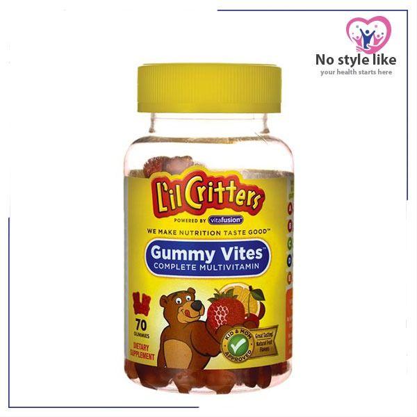 L Il Critters Gummy Vites 70 Gum Gummies Gum Nutrition