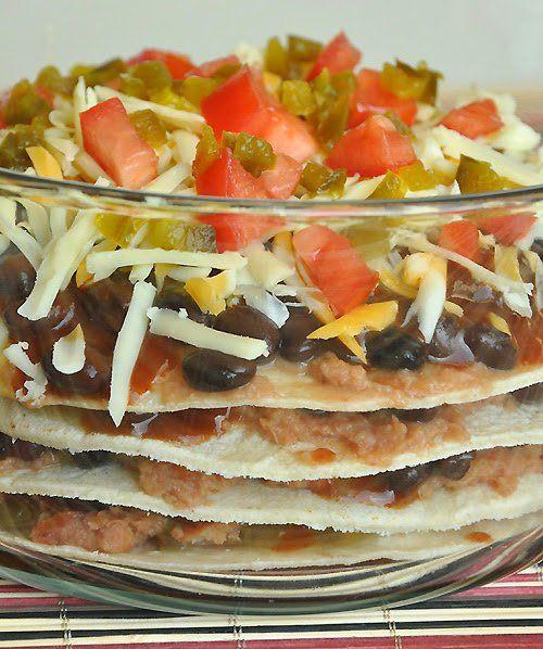 Fresh-Mex Mexican Pizza Lasagna