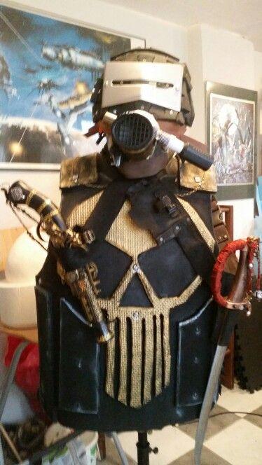 Airship pirate armor