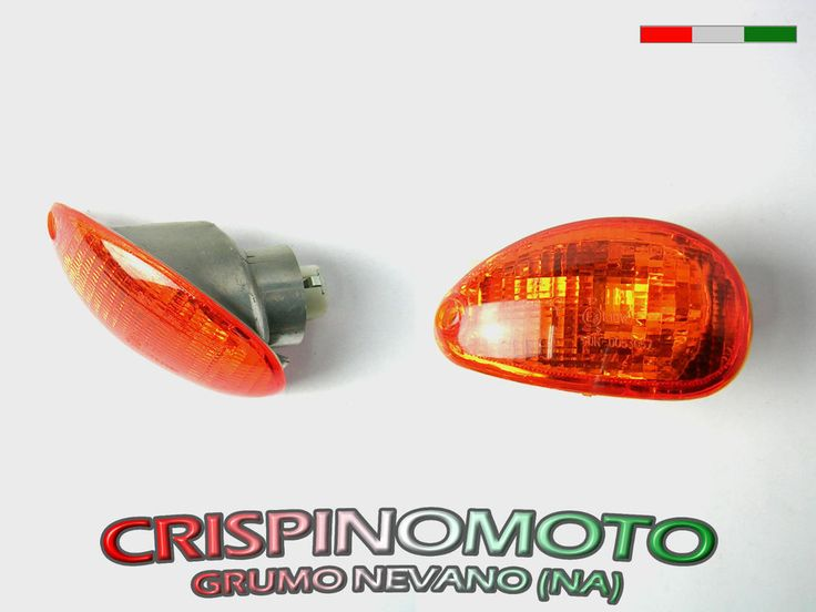 LAMPEGGIATORE POSTERIORE SX VESPA ET2 50 / ET4 125 ( arancio )