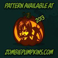 halloween stencils zombie