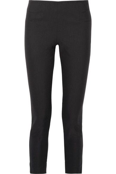 Lela Rose - Stretch-twill Skinny Pants - Black - US12