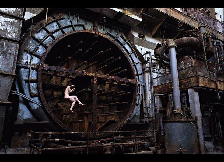 anthony luke's not-just-another-photoblog Blog: Urban Ruins Self Portrait Nudes by Photographer Miru Kim