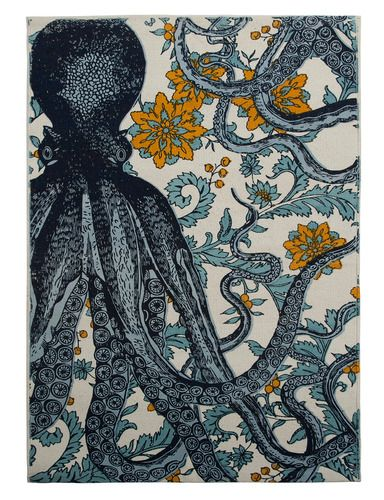 'Octopus Bath Mat by Thomaspaul. @2Modern'