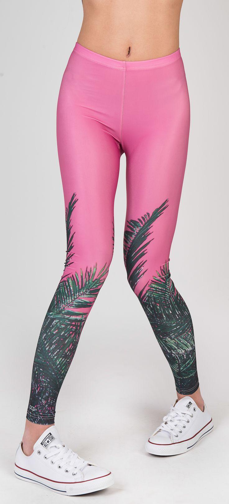 PCP Genesis - palm trees leggings
