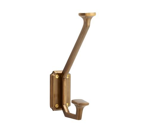 brass hook from pottery barn