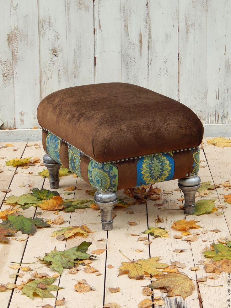 Купить пуф в дополнение к комплекту - пуф, кресло, пэчворк, интерьер, бук, тахта, Мебель, бук