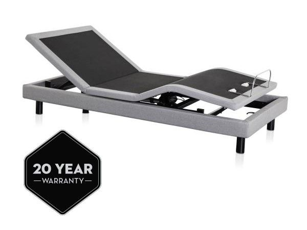 Malouf - King Adjustable Bed Base with Massage - M510-K
