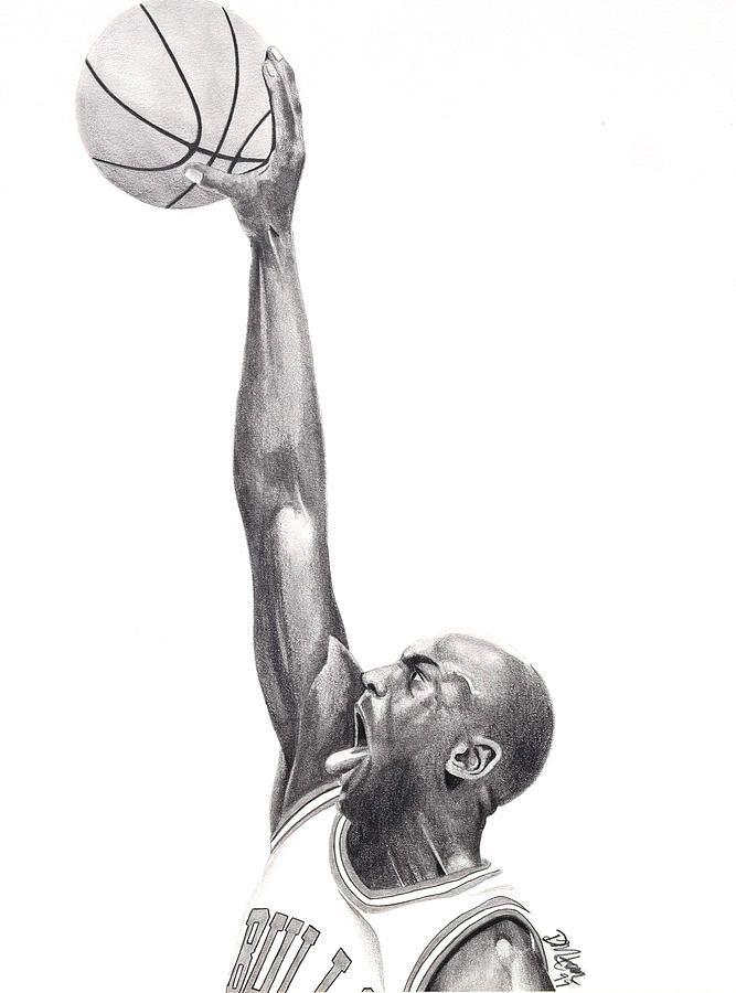 And a sketch of DEVIN MILLINGTON : http://devinmillington.fineartamerica.com/ #MichaelJordan