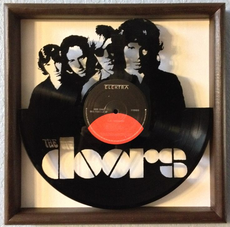 The Doors Quot L A Woman Quot Hand Cut Framed Vinyl Lp Record Art
