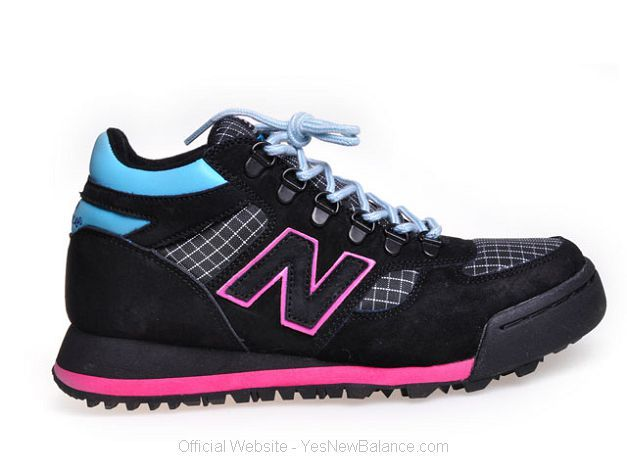 Women's New Balance H710 - Black / Pink / Blue