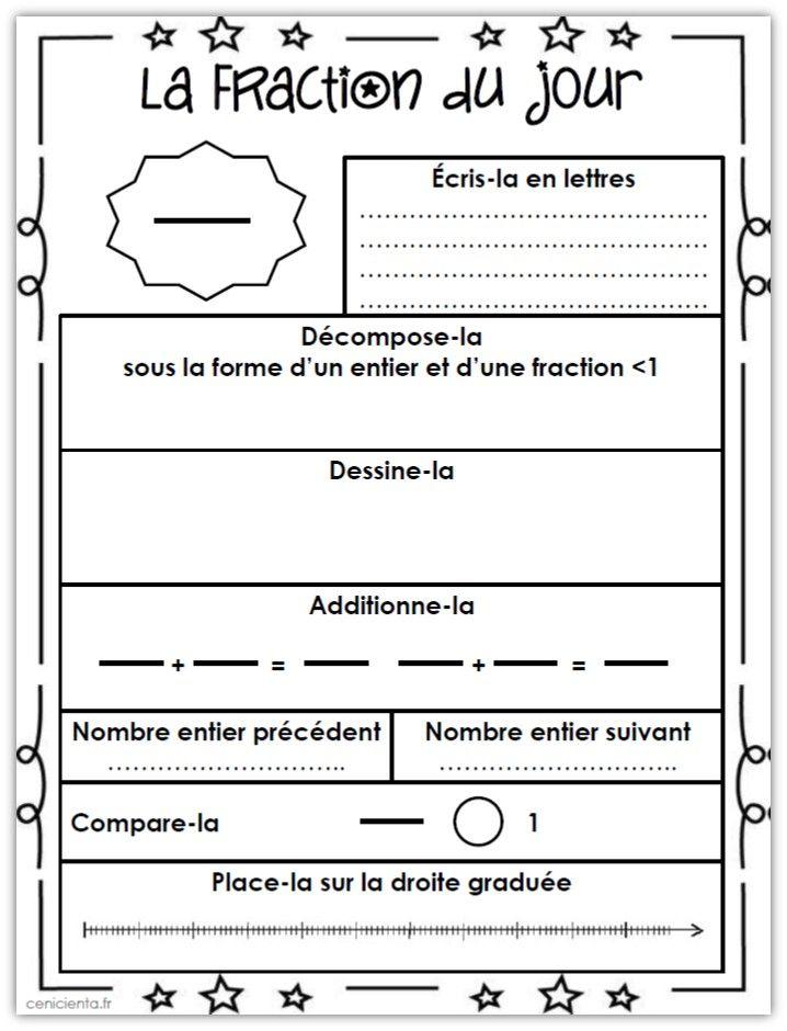 Rituel de numération: partir d'un nombre entier ou décimal ou d'une fraction et faire tout un travail autour: écrire, décomposer, comparer...