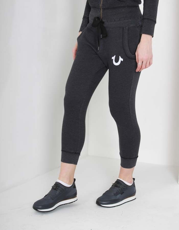 True Religion Grey Skinny Sweat Pants | Accent Clothing