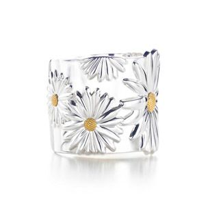 Tiffany  Co Outlet NATURE Daisy Cuff Bangle