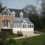 A new conservatory as part of a large redevelopment of this house