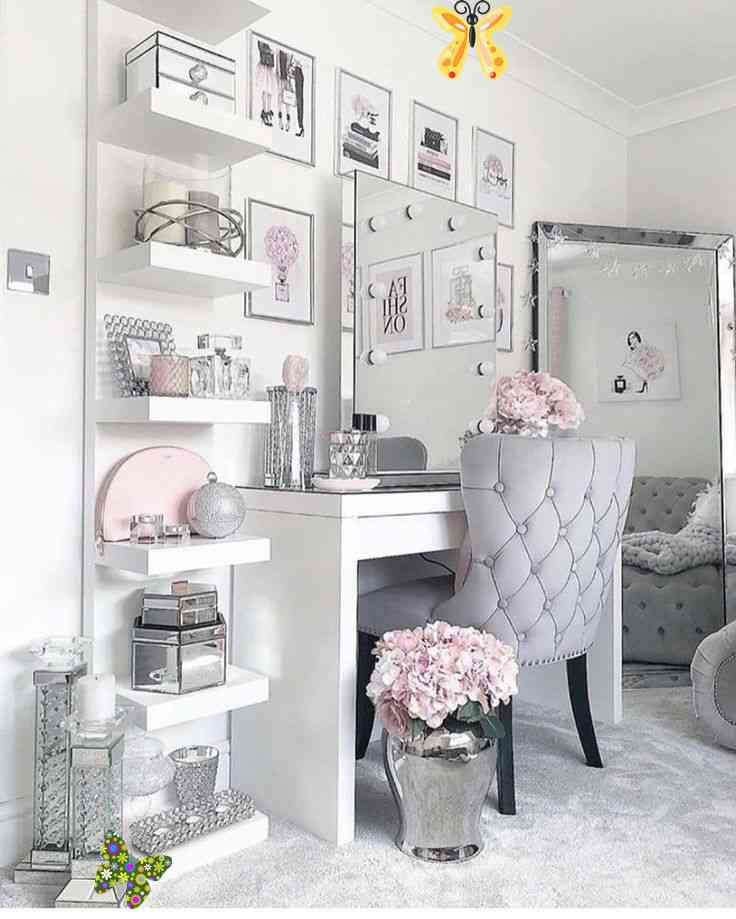 Pinterest Vanity Ideas Bedroom Makeup Vanity Ideas Bedroom Makeup Vanity Ideas Bedroom Vanity Ideas B Makeup Room Decor Home Decor Lights Around Mirror Browse our article of the latest white dressing table designs and ideas in 2019, modern dressing table designs for small bedroom, wooden dressing table, wall mounted dressing. pinterest vanity ideas bedroom makeup