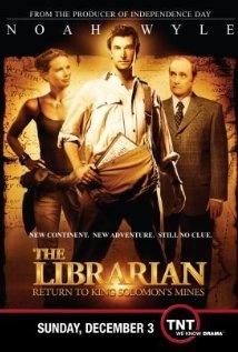 The Librarian: Return to King Solomon's Mines (TV 2006)  -- Gabrielle Anwar is terrific as Emily Davenport...she makes it a great ....